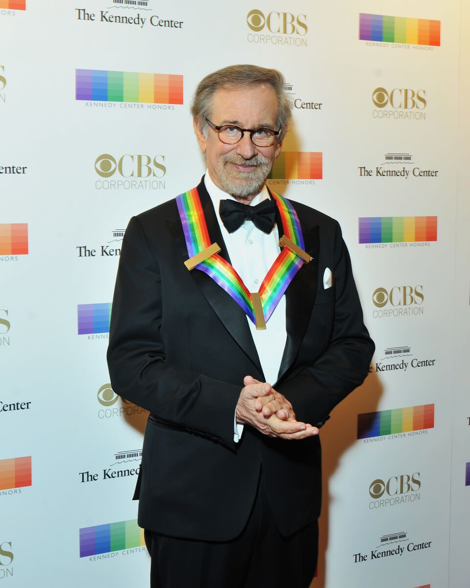 Director Steven Spielberg is pictured here on the red carpet at the 38th annual Kennedy Center Honors. (Courtesy Shannon Finney, www.shannonfinneyphotography.com)
