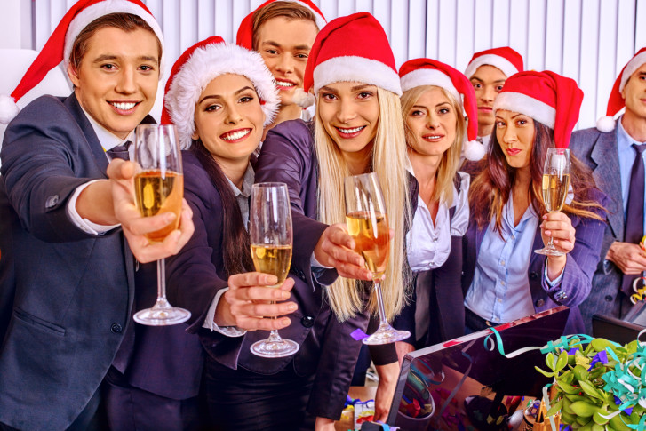 dont make a fool of yourself at the holiday party thinkstock