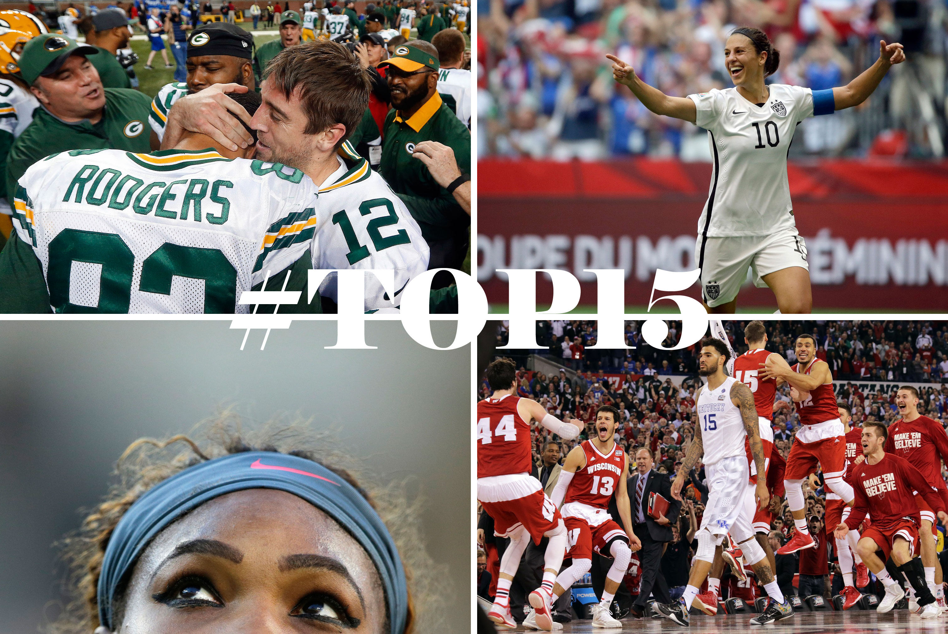 #TOP15 sports moments of 2015