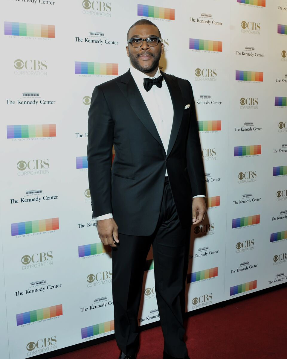Tyler Perry makes a red carpet stop at the 38th annual Kennedy Center Honors. (Courtesy Shannon Finney, www.shannonfinneyphotography.com)