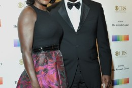 Actress Viola Davis is seen on the red carpet of the Kennedy Center Honors with husband Julius Tennon. (Courtesy Shannon Finney, www.shannonfinneyphotography.com)