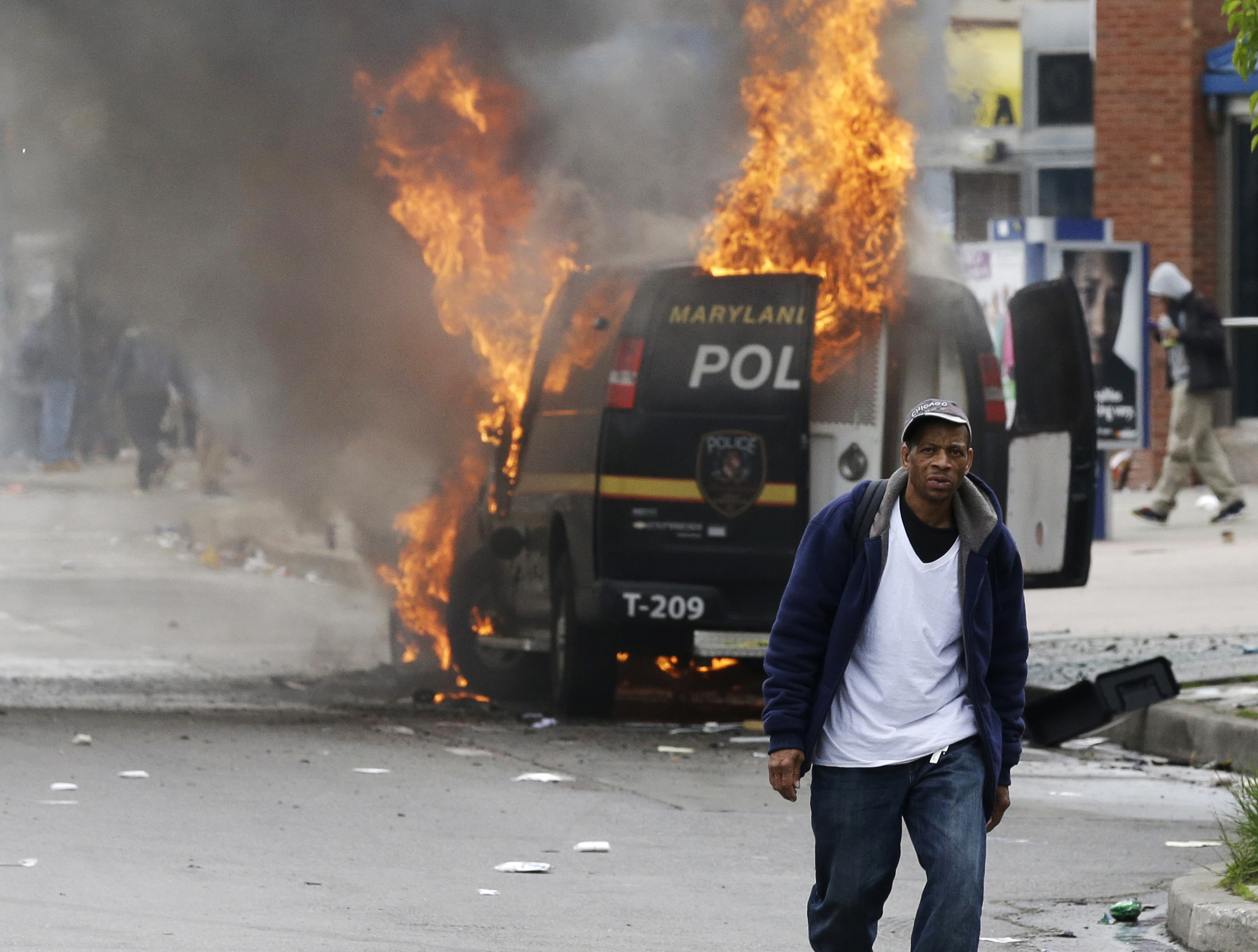 Baltimore repaying police agencies $1.8M for riot control