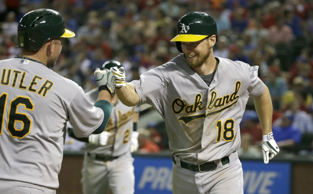 Zobrist fit into the organizational philosophy in Oakland. (AP Photo/LM Otero)