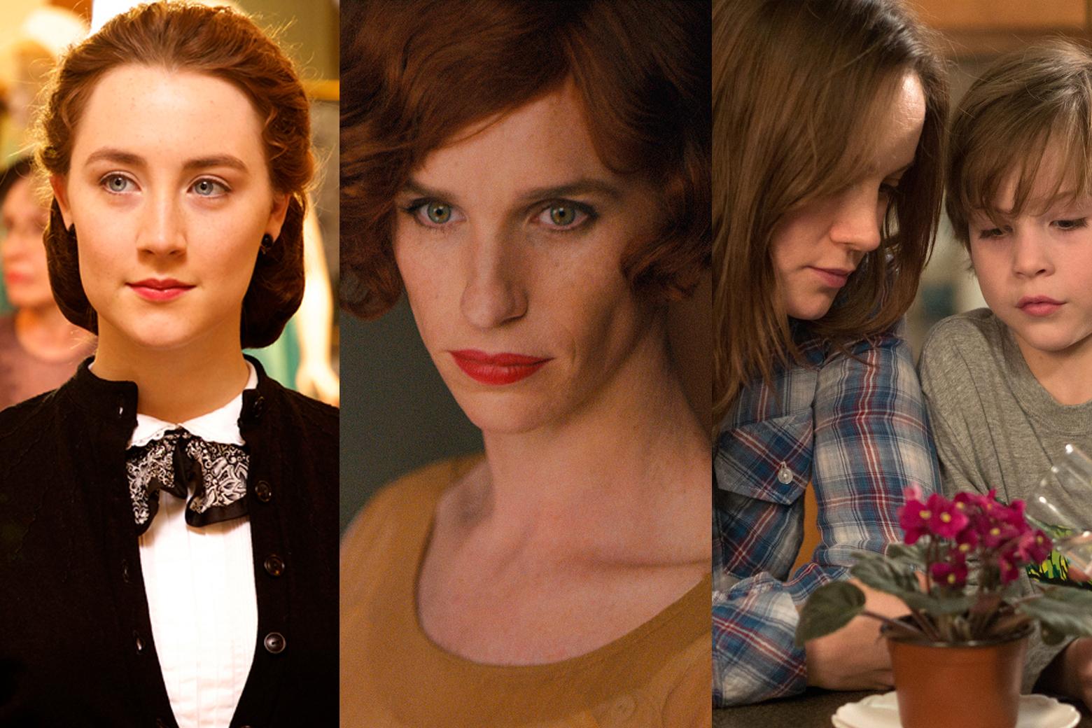 Golden Girls: 'Brooklyn,' 'Danish Girl,' 'Room' battle at the Globes