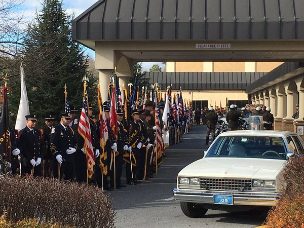 At funeral, Md. officer remembered as humble man 'loved by everyone he met'