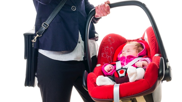 Using Your Detachable Car Seat Too Long May Be Putting Baby At