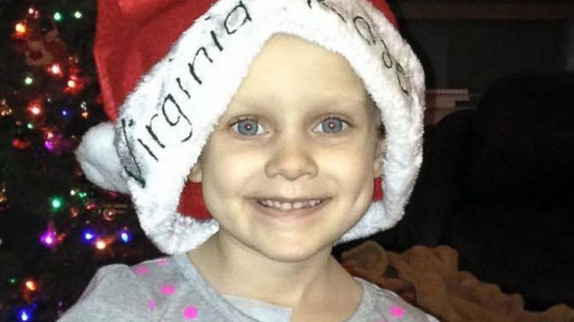 Terminally ill 4-year-old gets early Christmas in Virginia