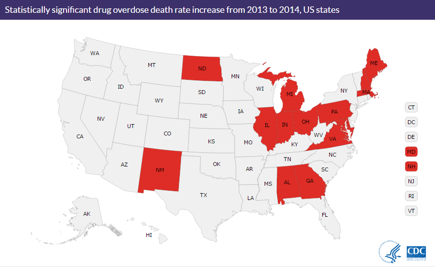 Opioid overdoses on the rise, despite federal and state programs