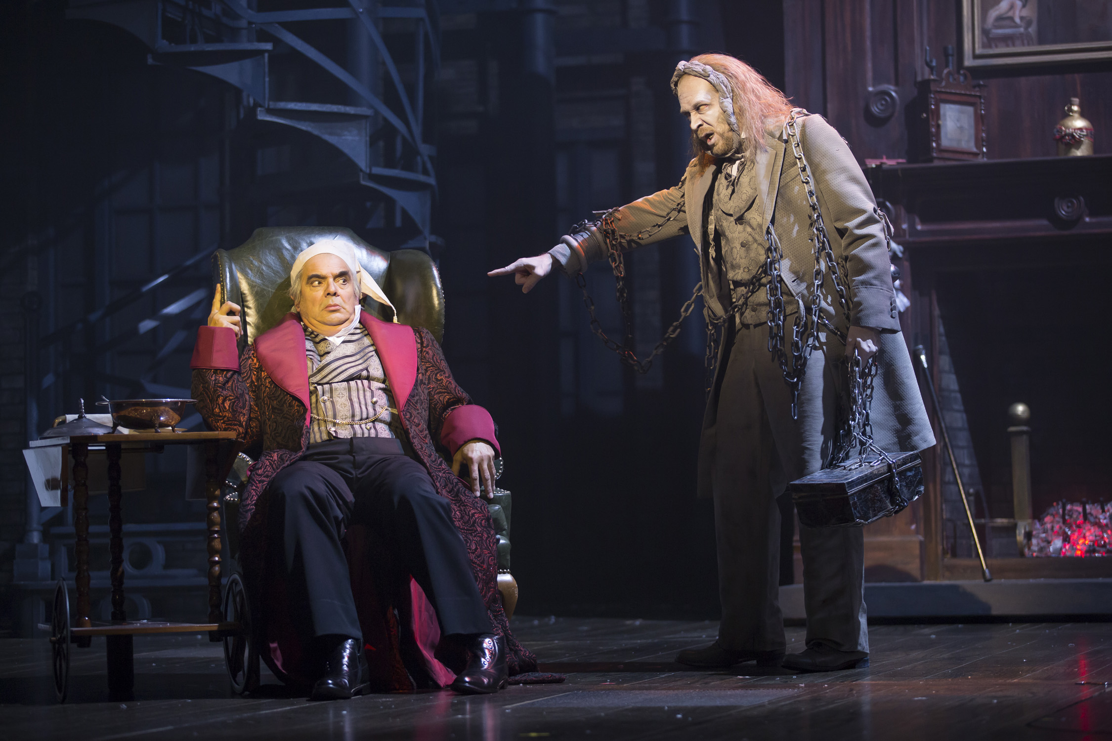 Bah humbug! Scrooge returns to 'A Christmas Carol' at Ford's
