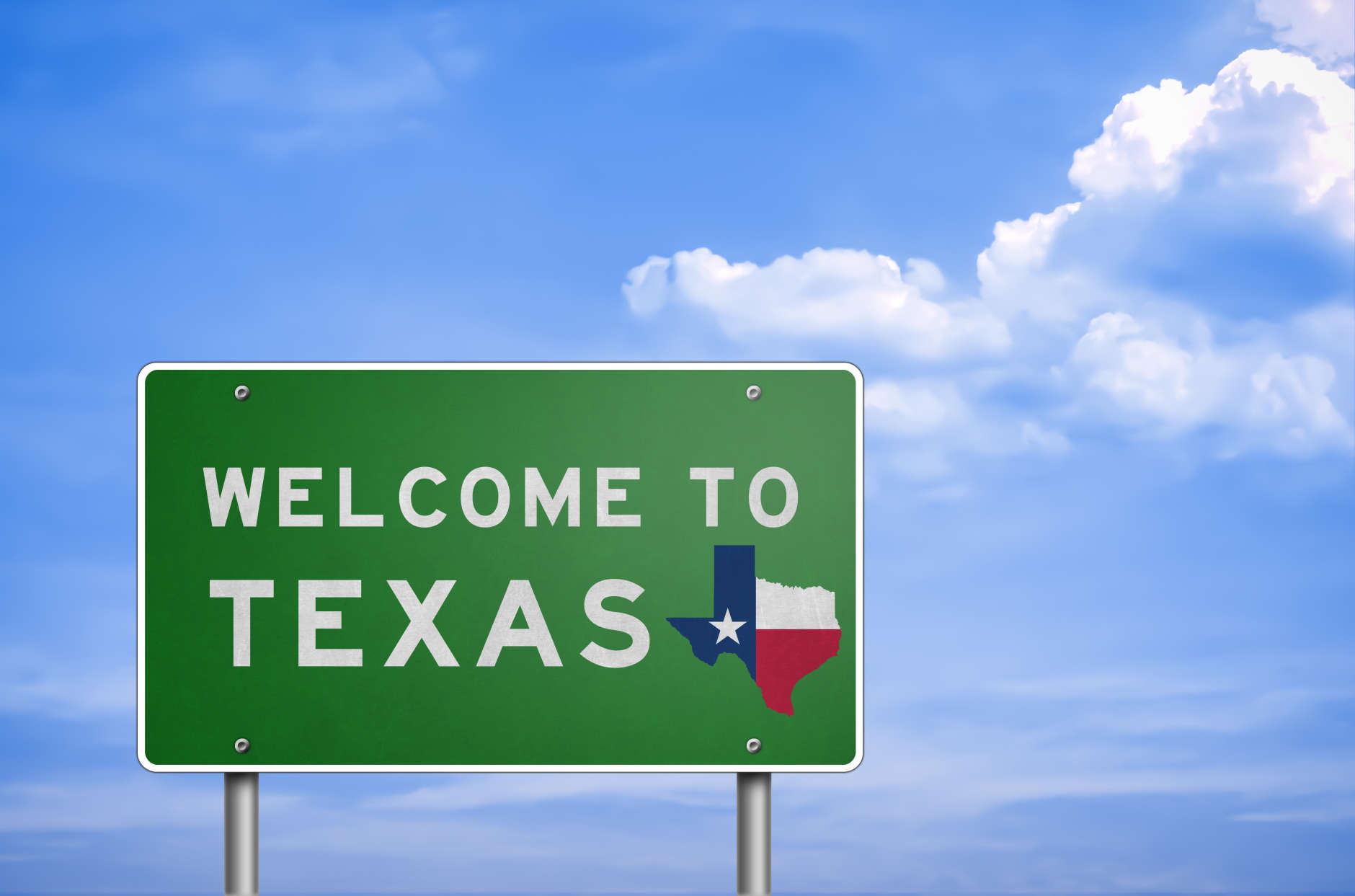 In 1845, Texas was admitted as the 28th state. (Thinkstock)