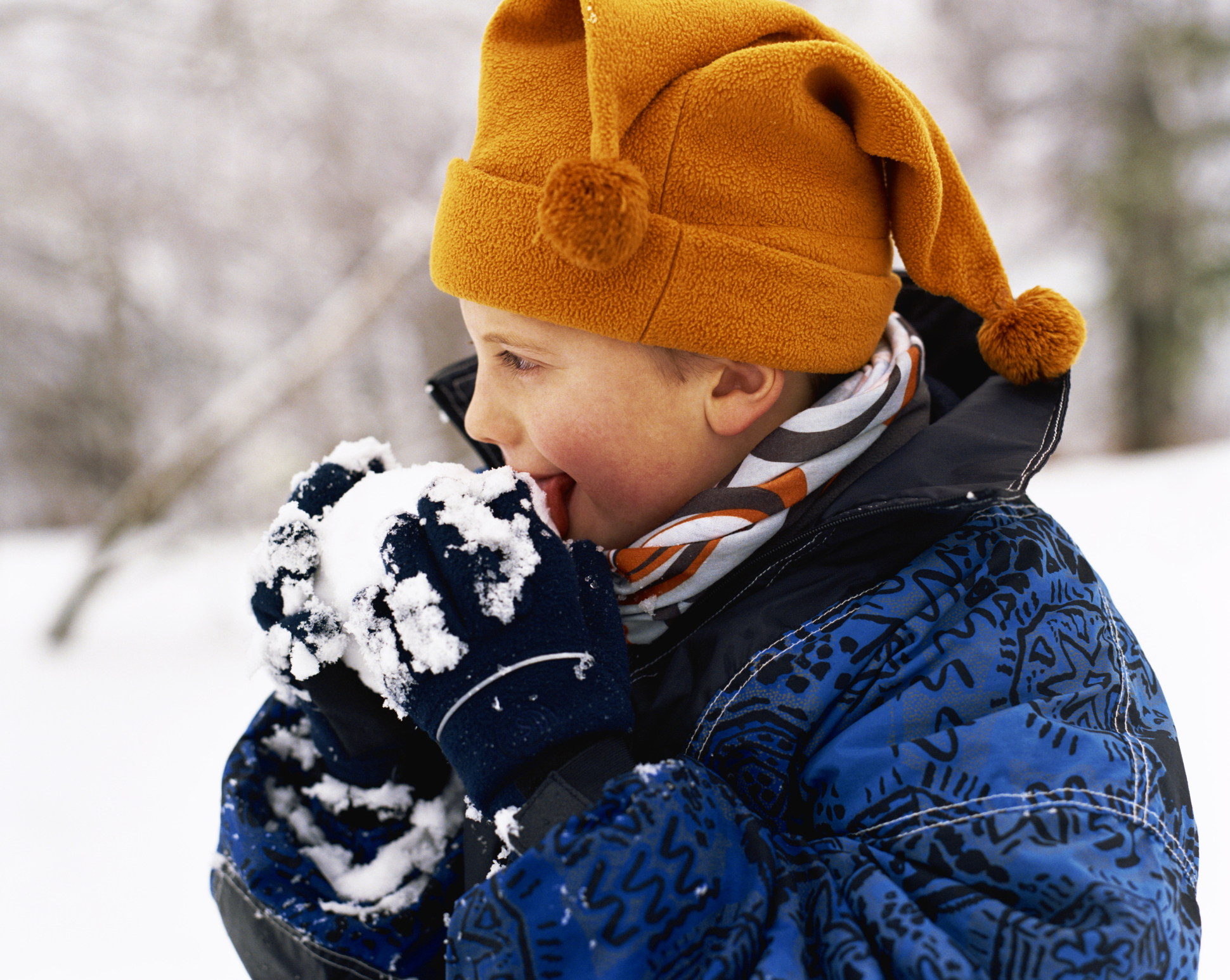 Eating snow can be hazardous to your health, study finds