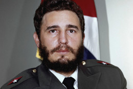 Fidel Castro shown in 1959.     No other identification given. (AP Photo)