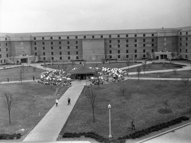 Image result for work completed on the pentagon in 1943