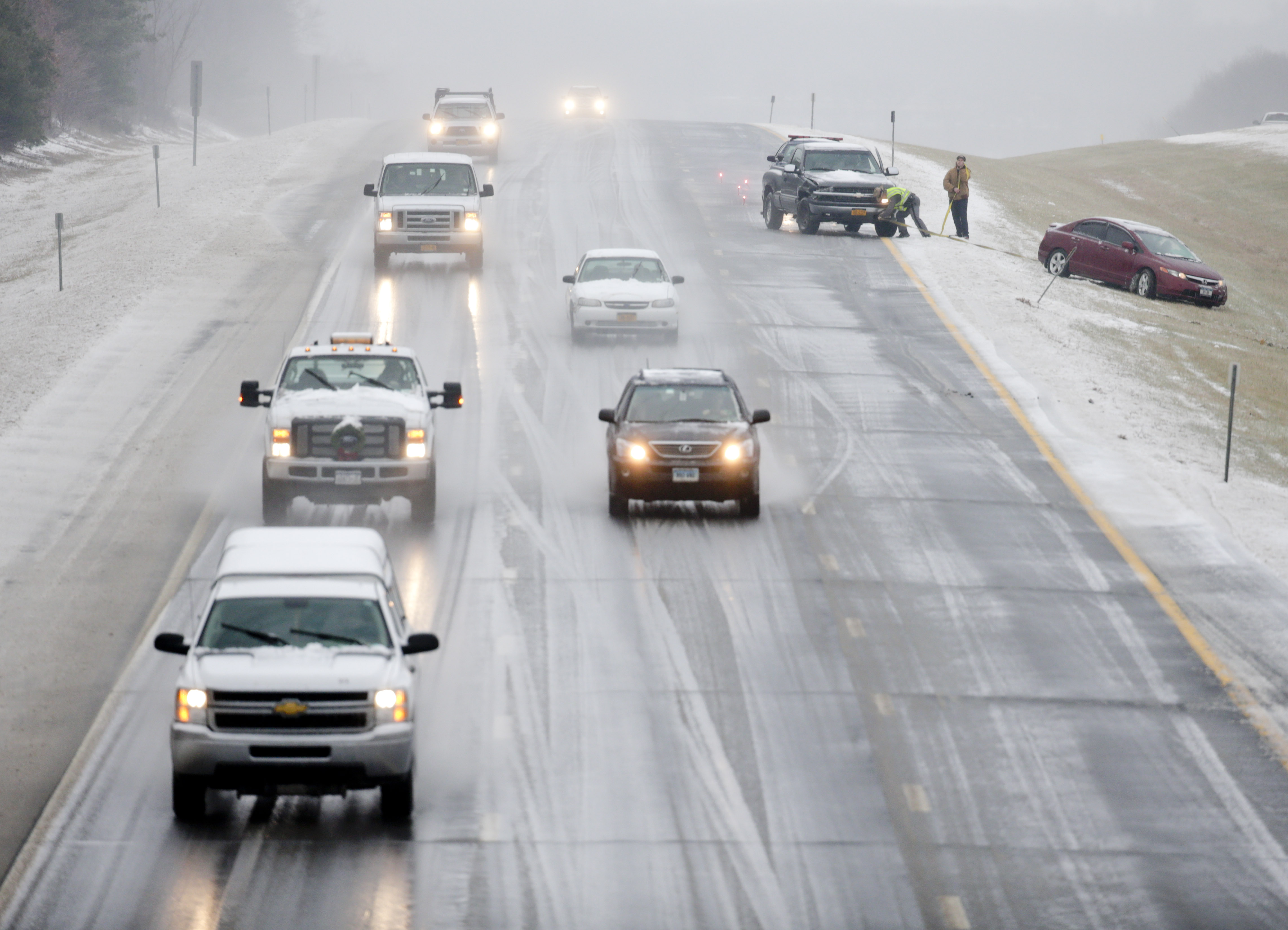 Tips for driving in the snow from WTOP's traffic experts