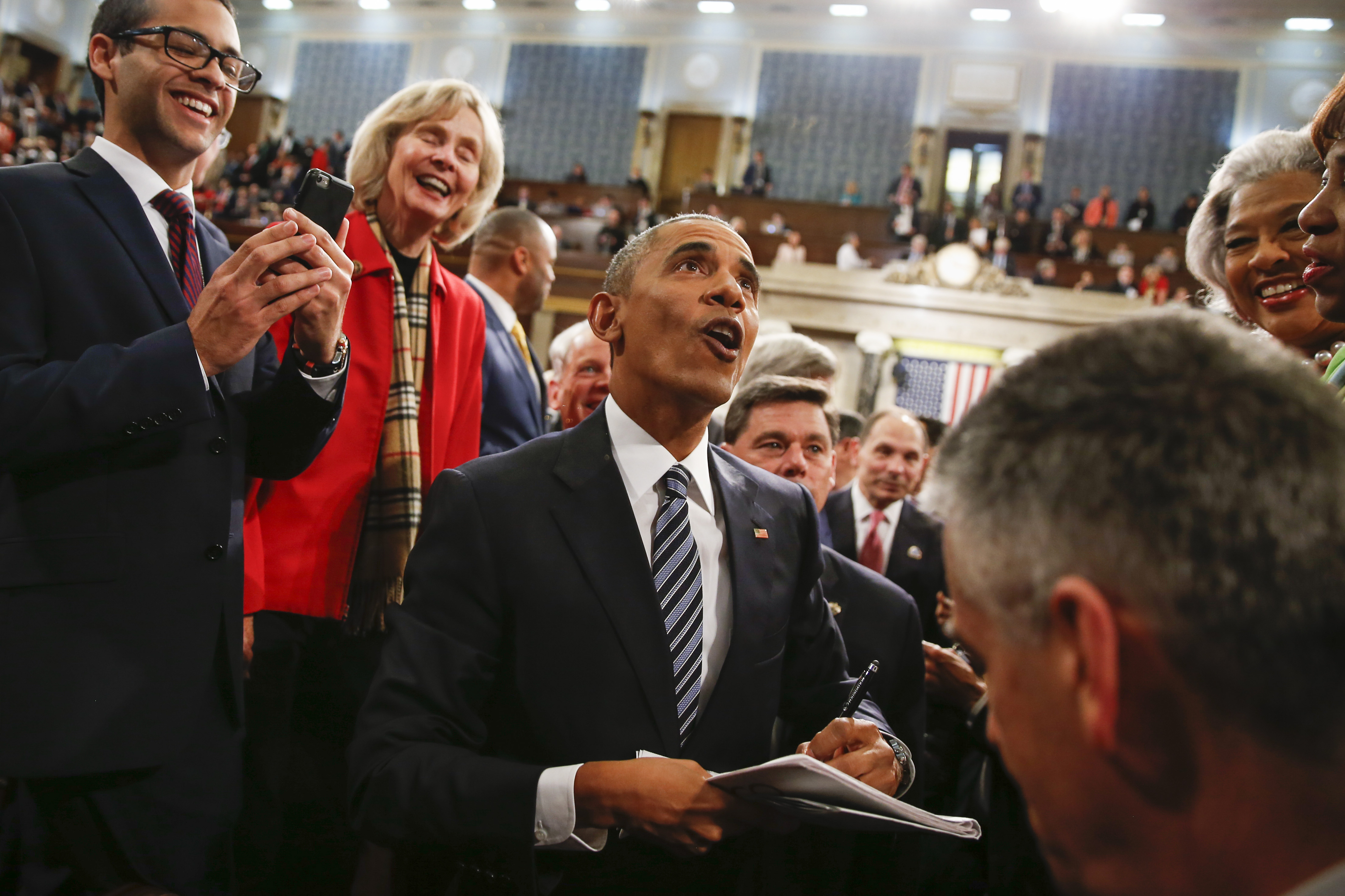 President Obama's final State of the Union