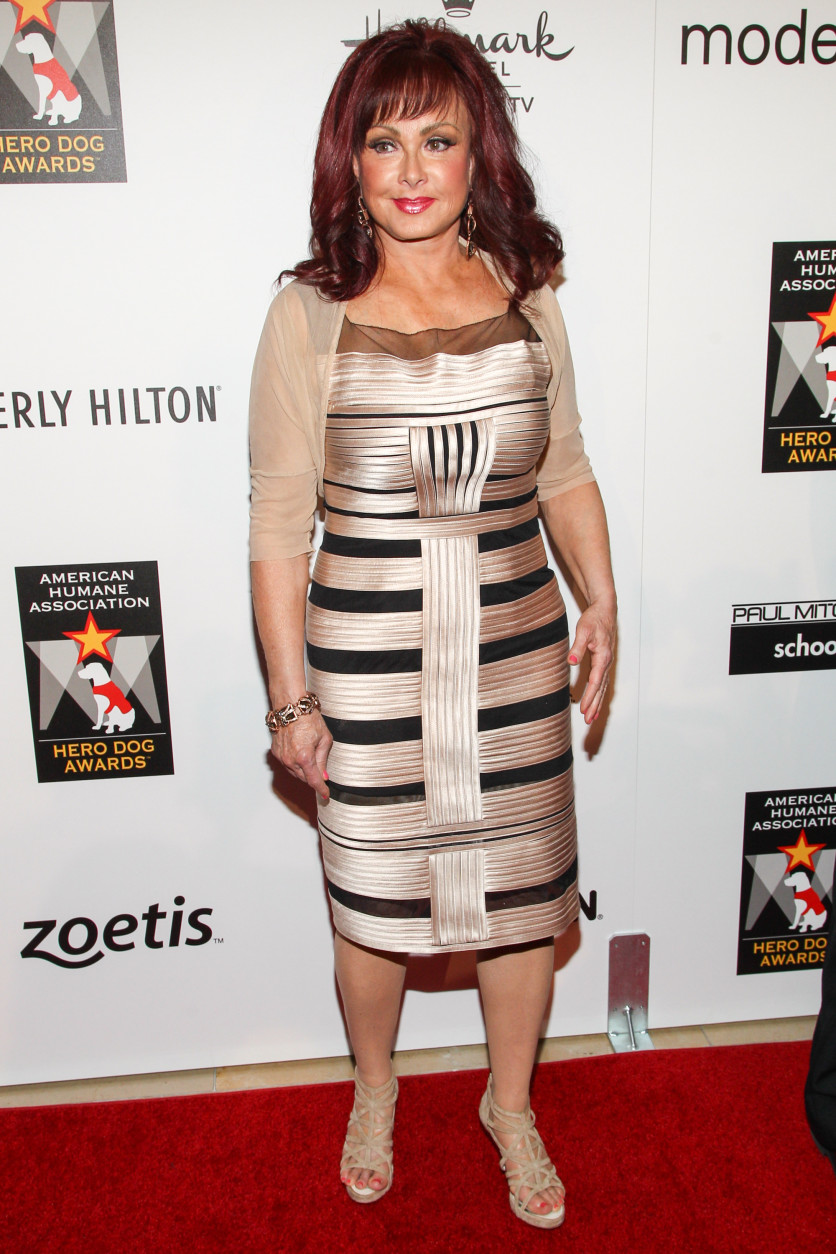 Recording artist Naomi Judd arrives at the 3rd Annual American Humane Association Hero Dog Awards at the Beverly Hilton Hotel on Saturday, Oct. 5, 2013 in Beverly Hills, Calif. (Photo by Paul A. Hebert/Invision/AP)