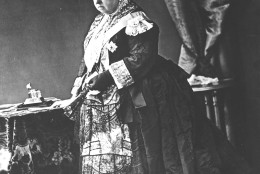 QUEEN VICTORIA IN 1887: This portrait of queen Victoria was made for the occasion of her 1887 jubilee. (AP-Photo/hdw/- 1887 -)