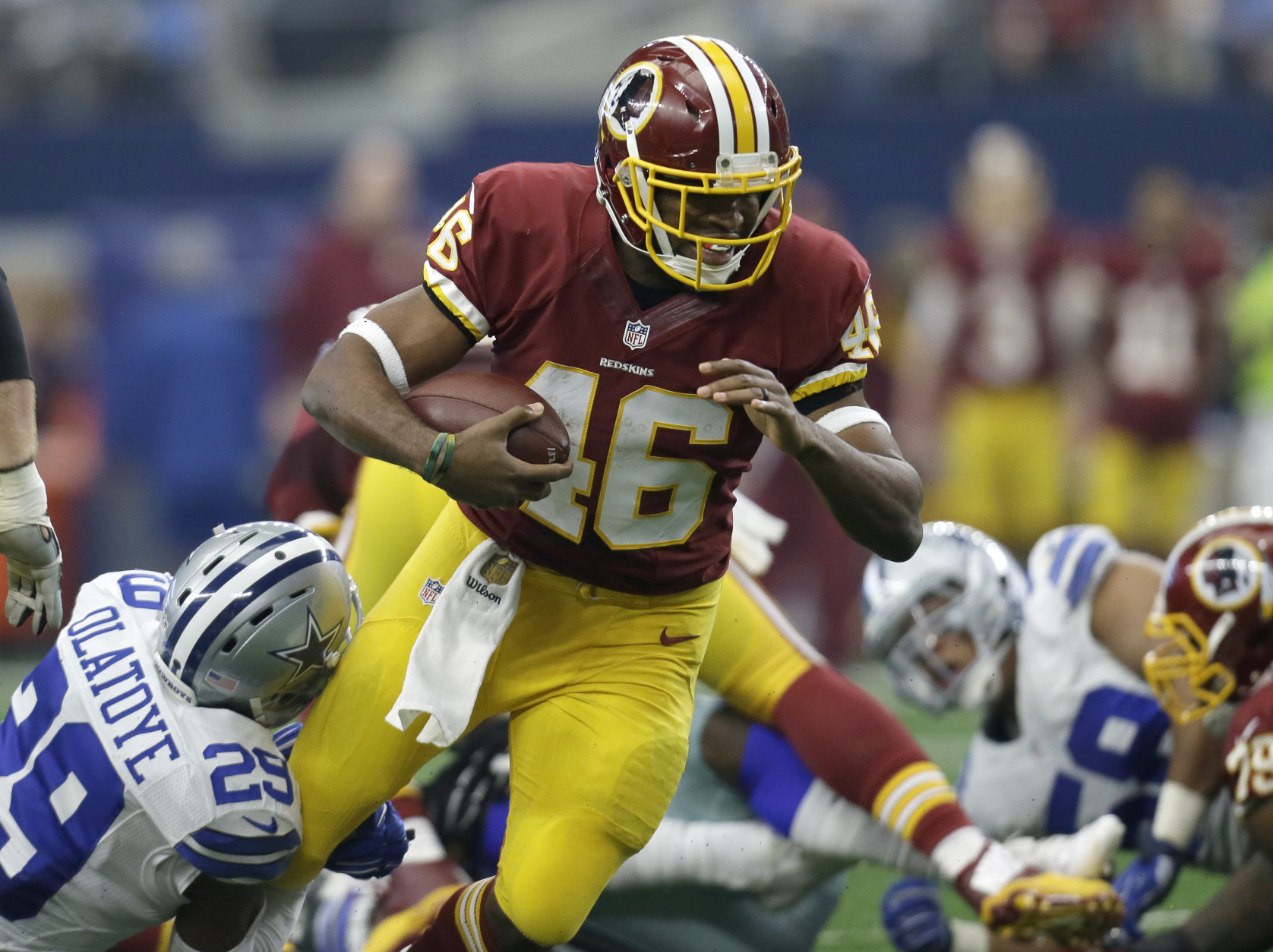 Cheap NFL Jerseys - Cousins has 'perfect' tuneup as Redskins top Cowboys 34|23 | WTOP