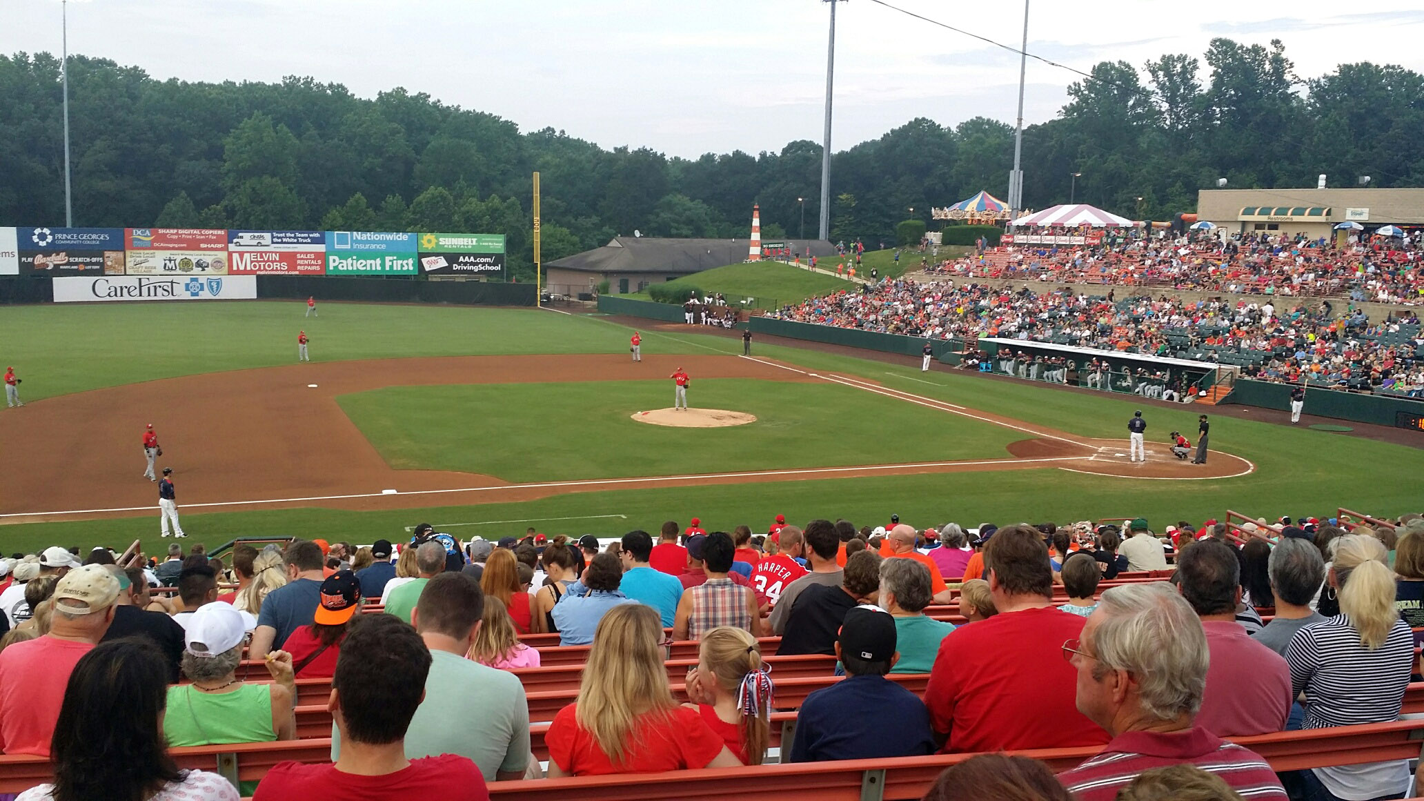 'Out the window': Maryland minor league teams benched by coronavirus