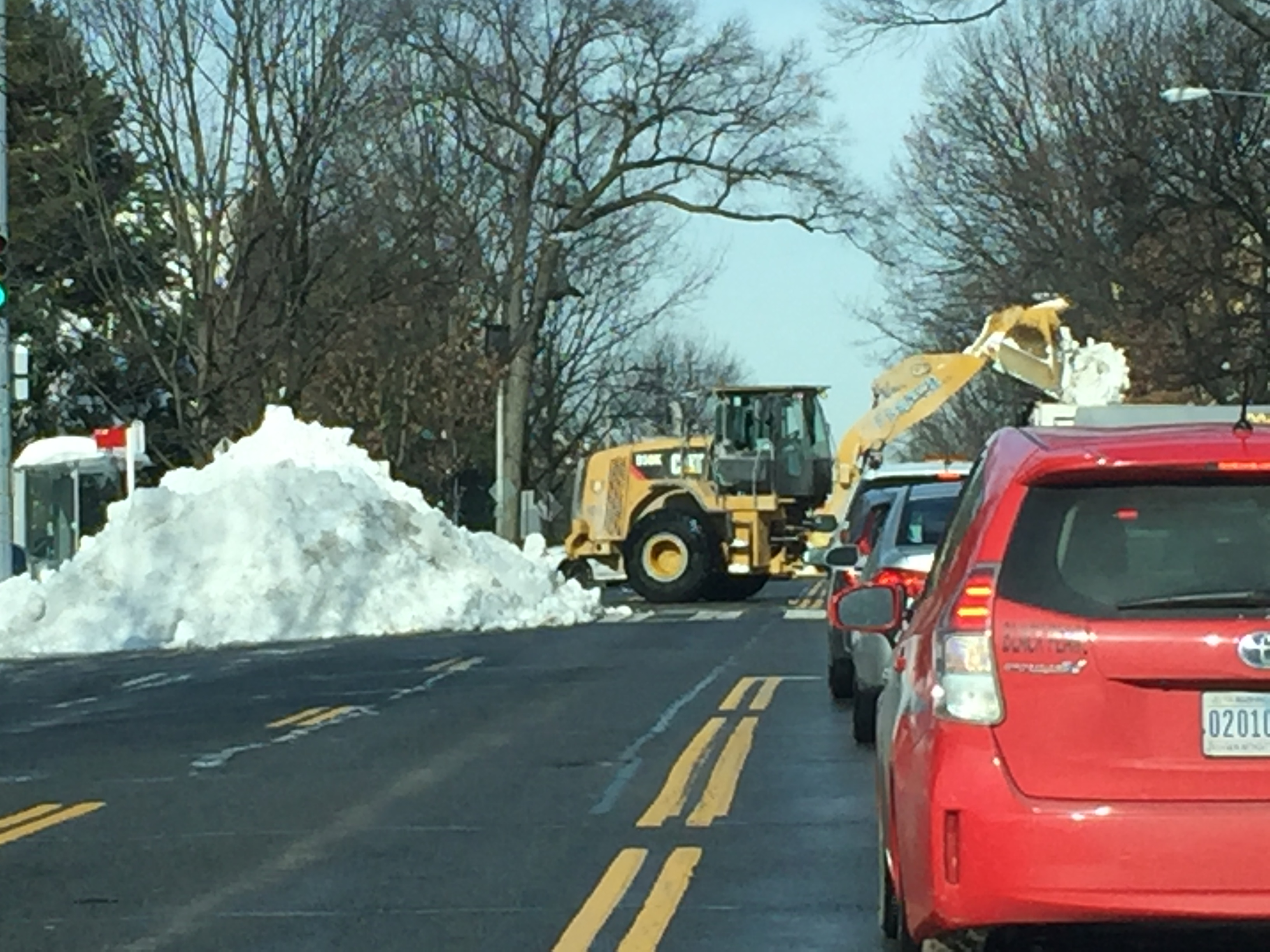Roads slowly clearing after weekend blizzard