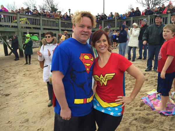Some participants dressed up in superhero outfits. (Michelle Basch)