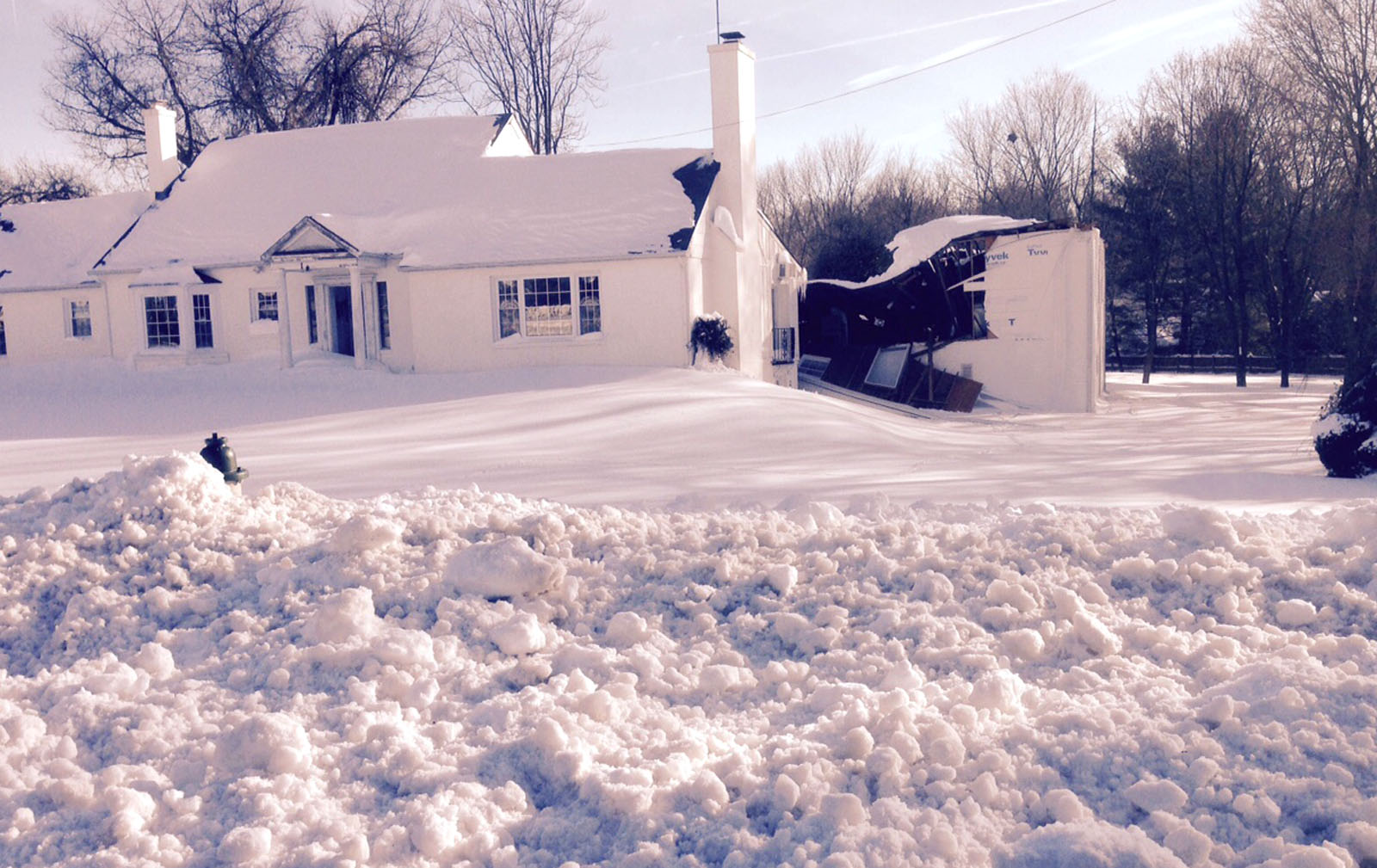 Md. church roof collapses under heavy snow