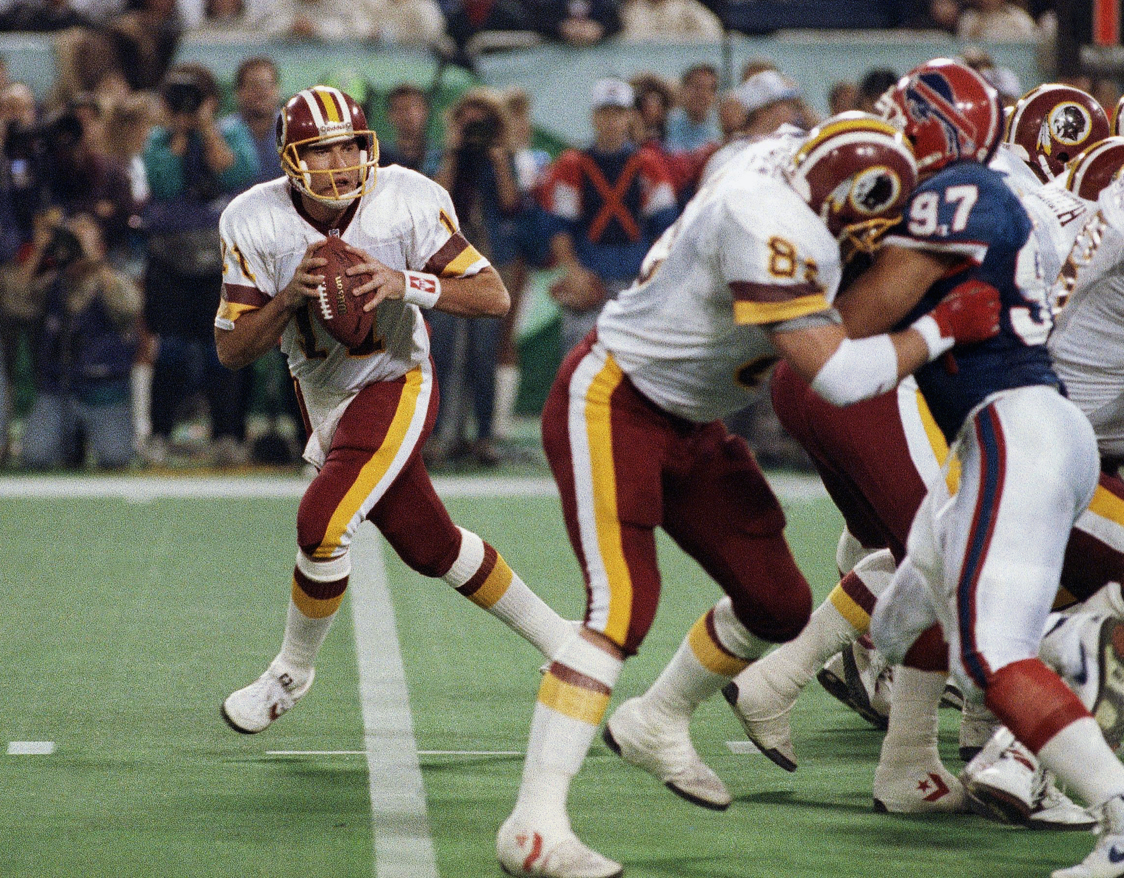 Former Redskins Super Bowl MVP Mark Rypien arrested for domestic violence