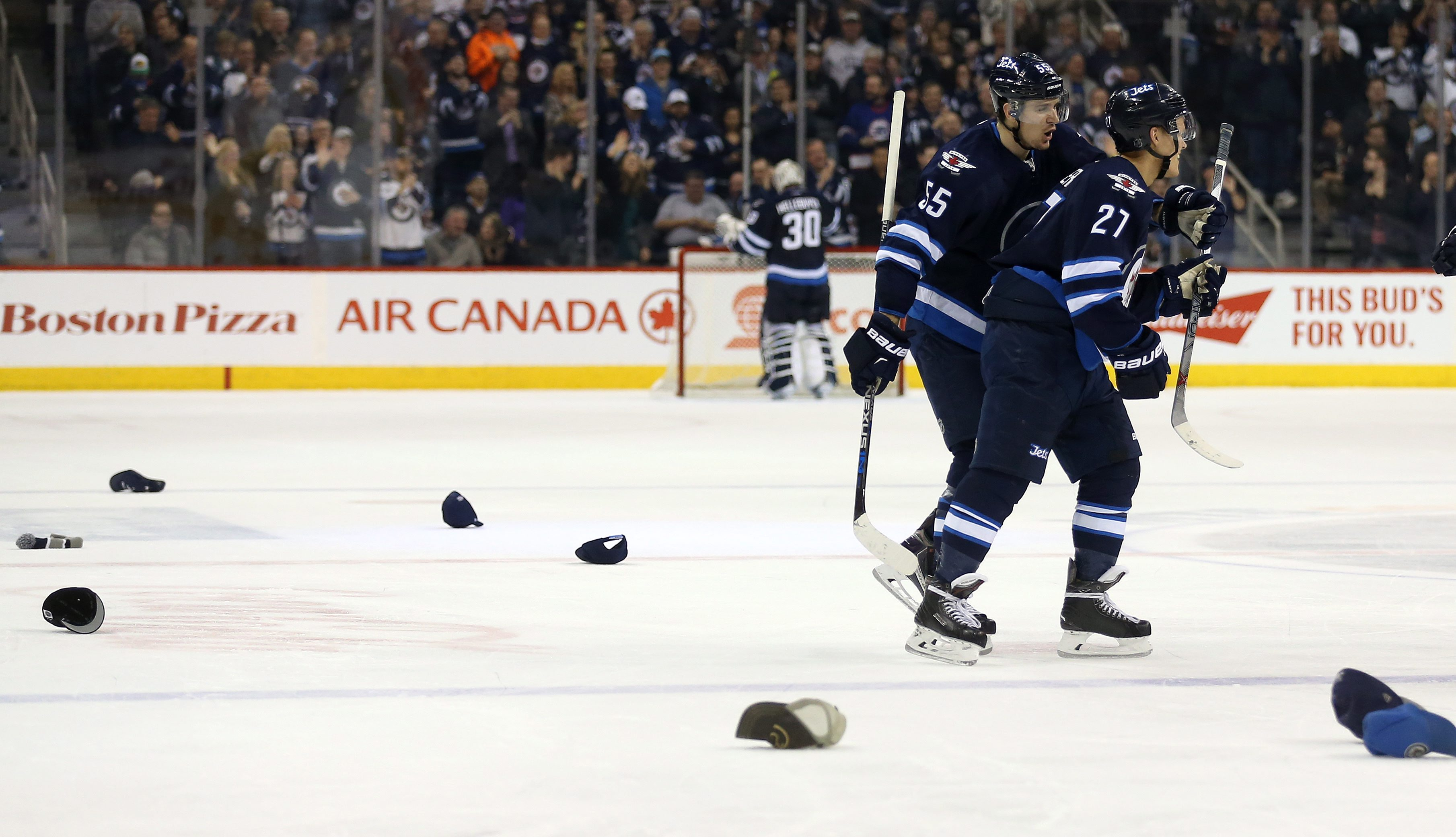 ehlers gets goals and jets beat coyotes wtop