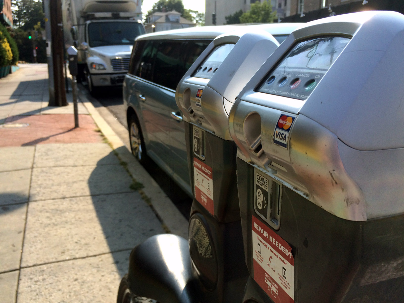 New Chinatown, Penn Quarter parking meter rate schedule begins