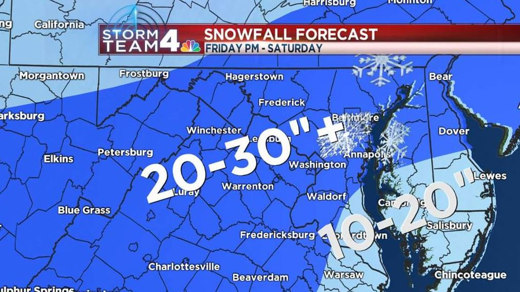 Region settles in for a long snowy night as snowfall rates pick up