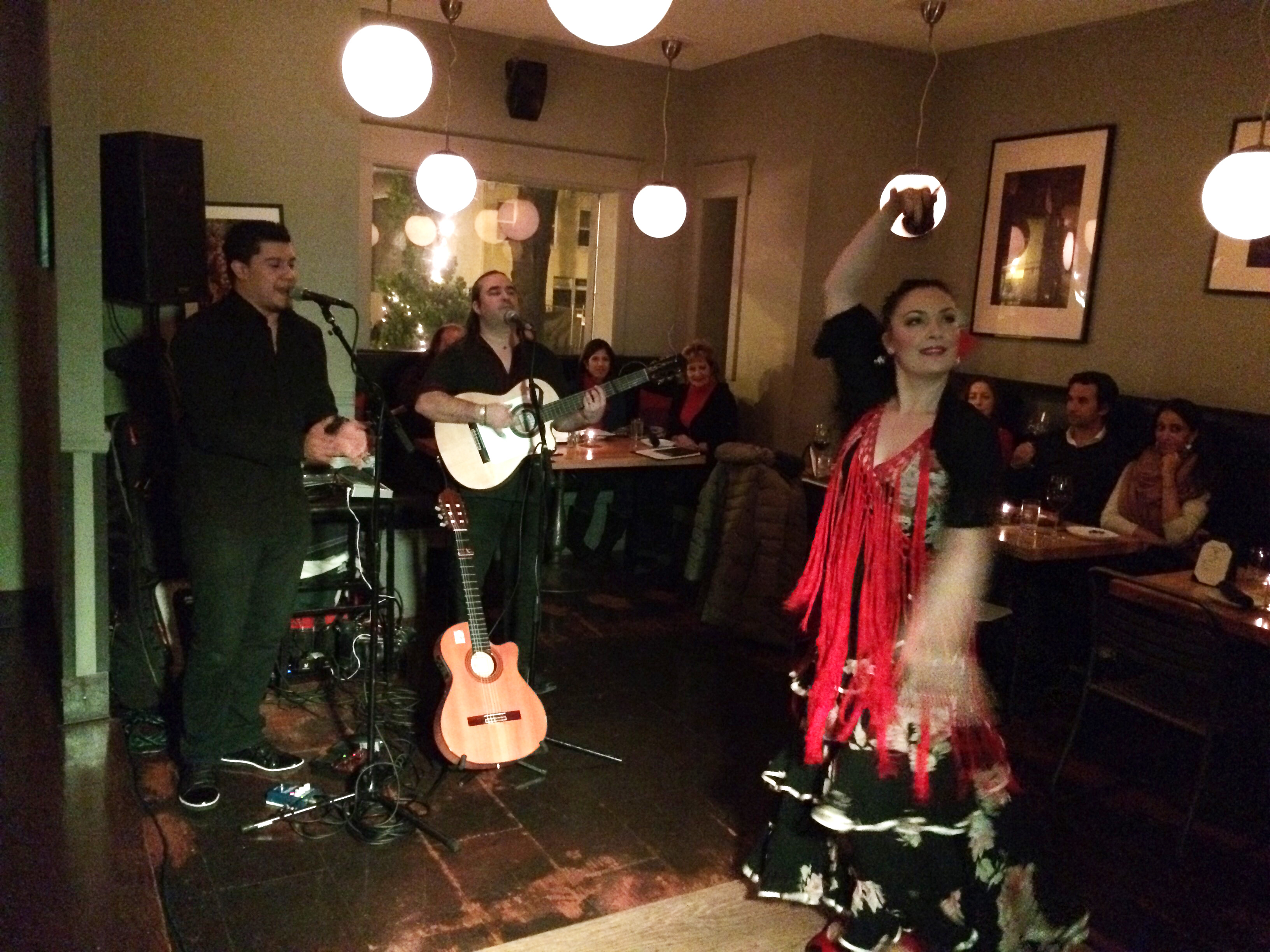 Pocket the airfare: Local bar offers taste of Spain with flamenco, Spanish wines