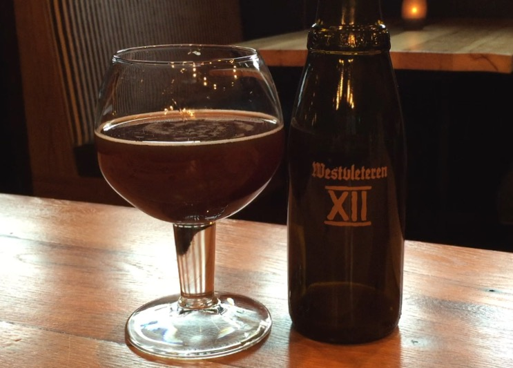 Westvleteren 12 pairs well with game birds and anything with a dark, bold taste. But if you hope to snag this rare beer, you'll need some luck -- or a plane ticket. (WTOP/Brennan Hazleton)