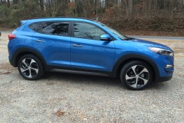 This year's redesign brought the vehicle's looks forward.  (WTOP/Mike Parris)