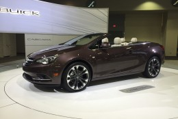 Based on a European model, the Cascada is Buick's first convertible in 25 years
