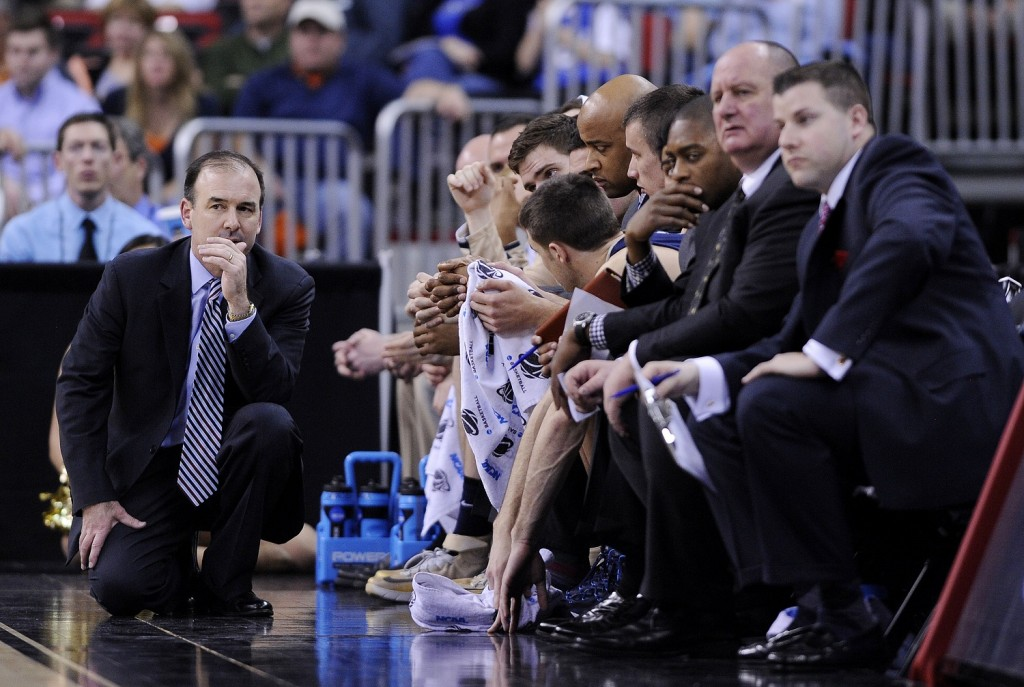 Mike Lonergan looks to return to the NCAA Tournament after settling for the NIT last season. (Grant Halverson/Getty Images)