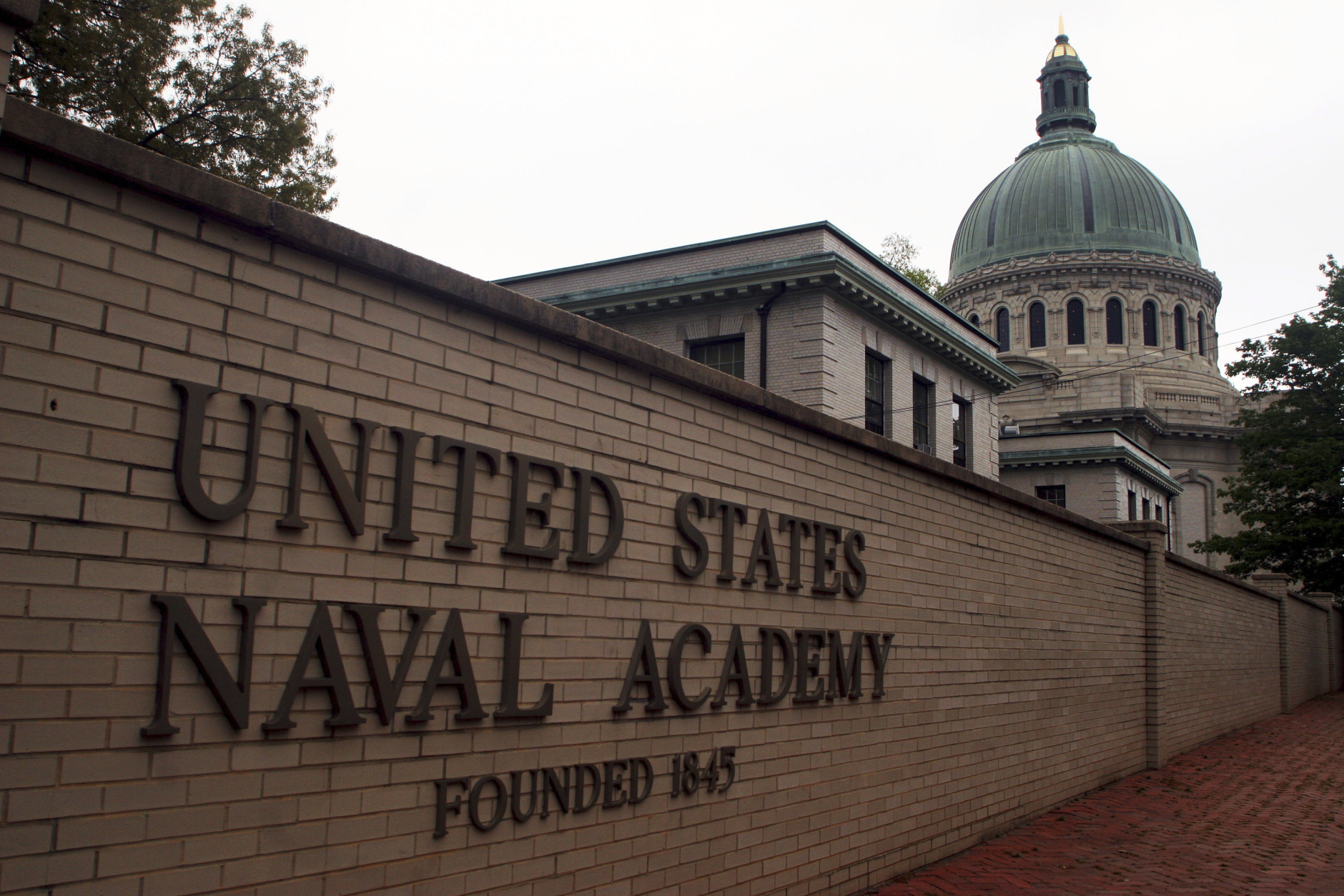 FILE - This May 10, 2007 file photo shows the U.S. Naval Academy in Annapolis, Md. Reports of sexual assaults at the three military academies jumped by more than 50 percent in the 2014-15 school year, and complaints of sexual harassment also spiked, according to documents reviewed by The Associated Press. According to report documents reviewed by the AP, there were 91 reported sexual assaults over the last school year at the U.S. Naval Academy in Annapolis, Maryland, the U.S. Military Academy at West Point, New York, and the U.S. Air Force Academy in Colorado — compared to 59 during the 2013-14 school year. (AP Photo/Kathleen Lange, File)