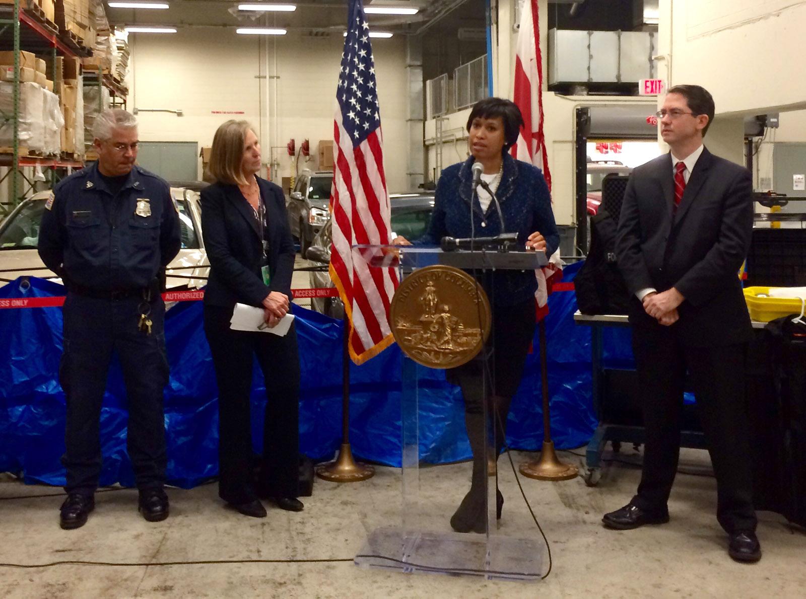 D.C. mayor pushes for public safety legislation