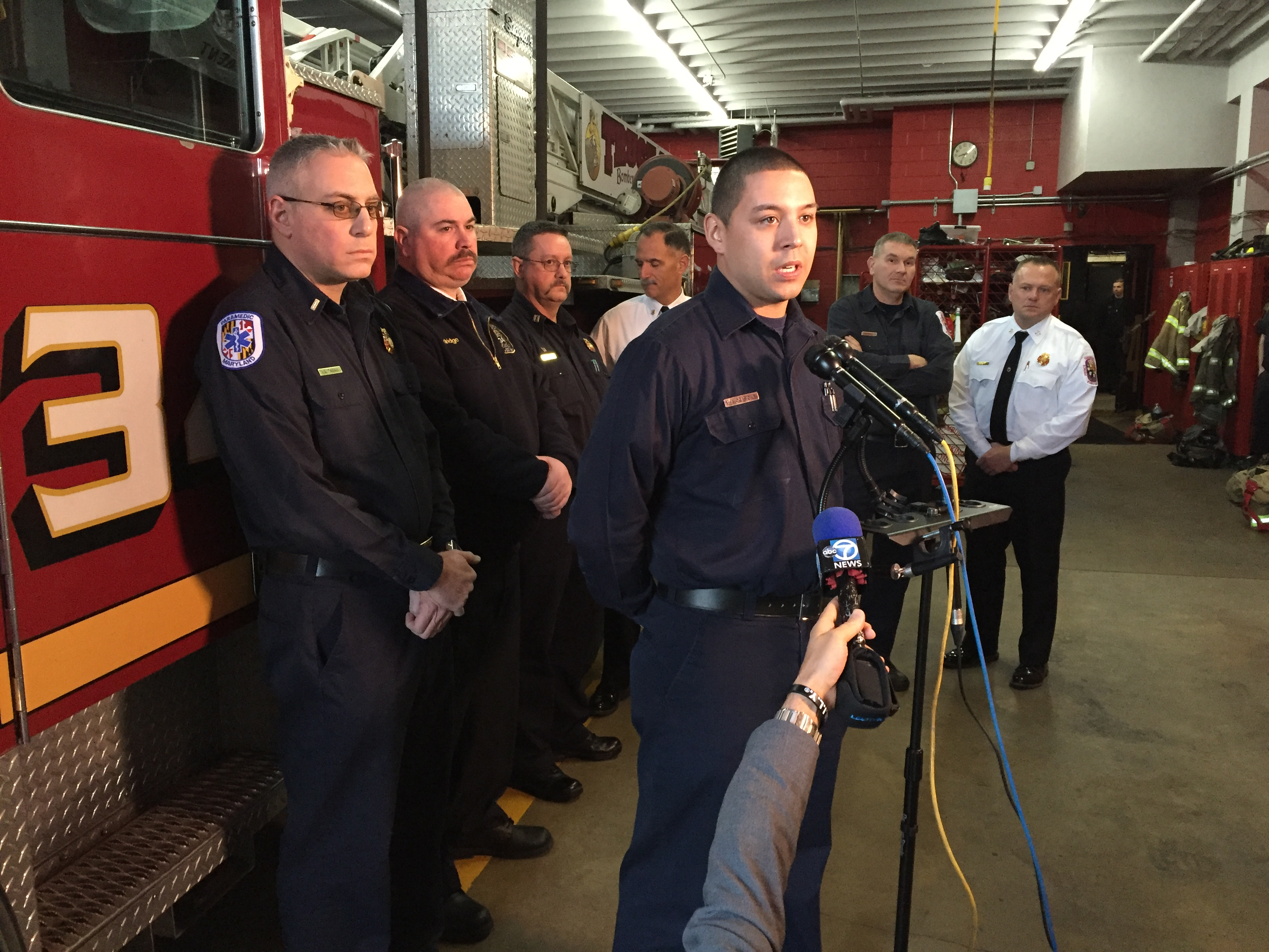 Firefighters describe dramatic rescues in Md. apartment fire