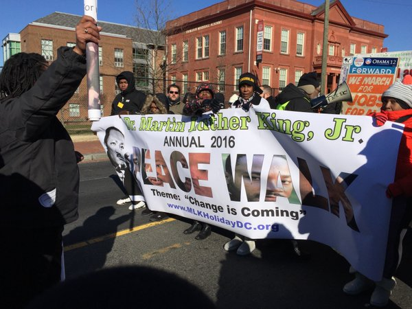 Peace Walk aims to keep King's dream alive