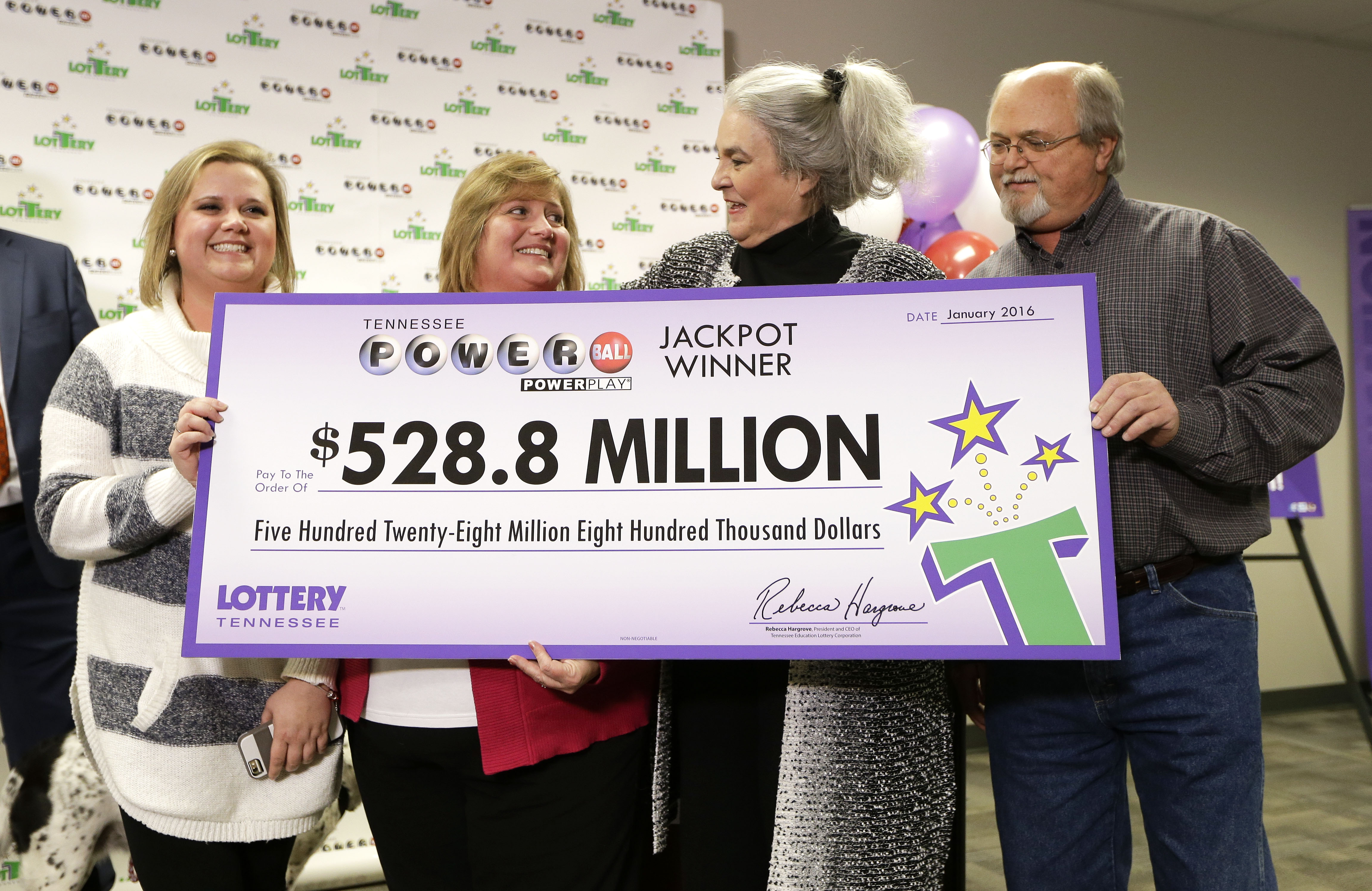 Tennessee Powerball winners: No big changes to lives | WTOP