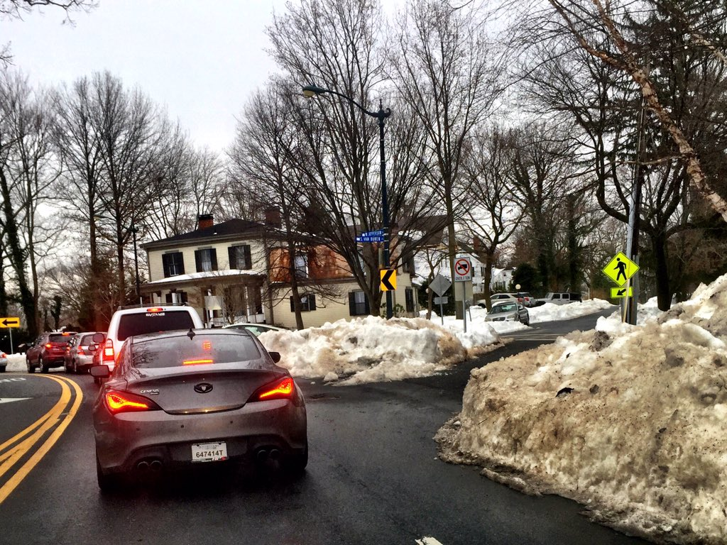 As life returns to normal, snow-clogged roads lead to chaos
