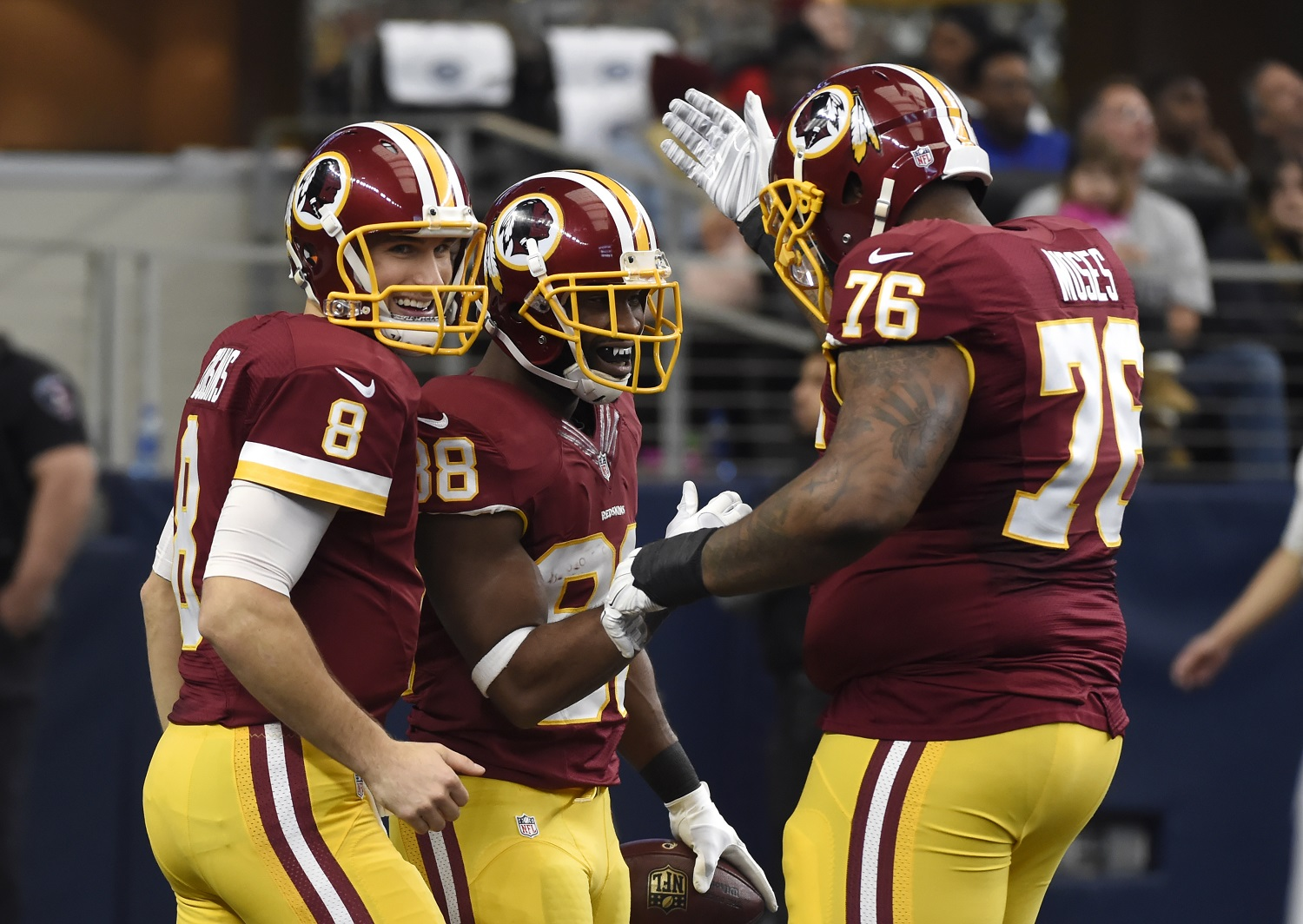 Redskins hope to ride momentum to first playoff win in 10 years