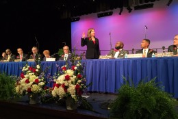 New mayor Allison Silberberg calls Alexandria a treasure that must be protected. (WTOP/ Michelle Basch)