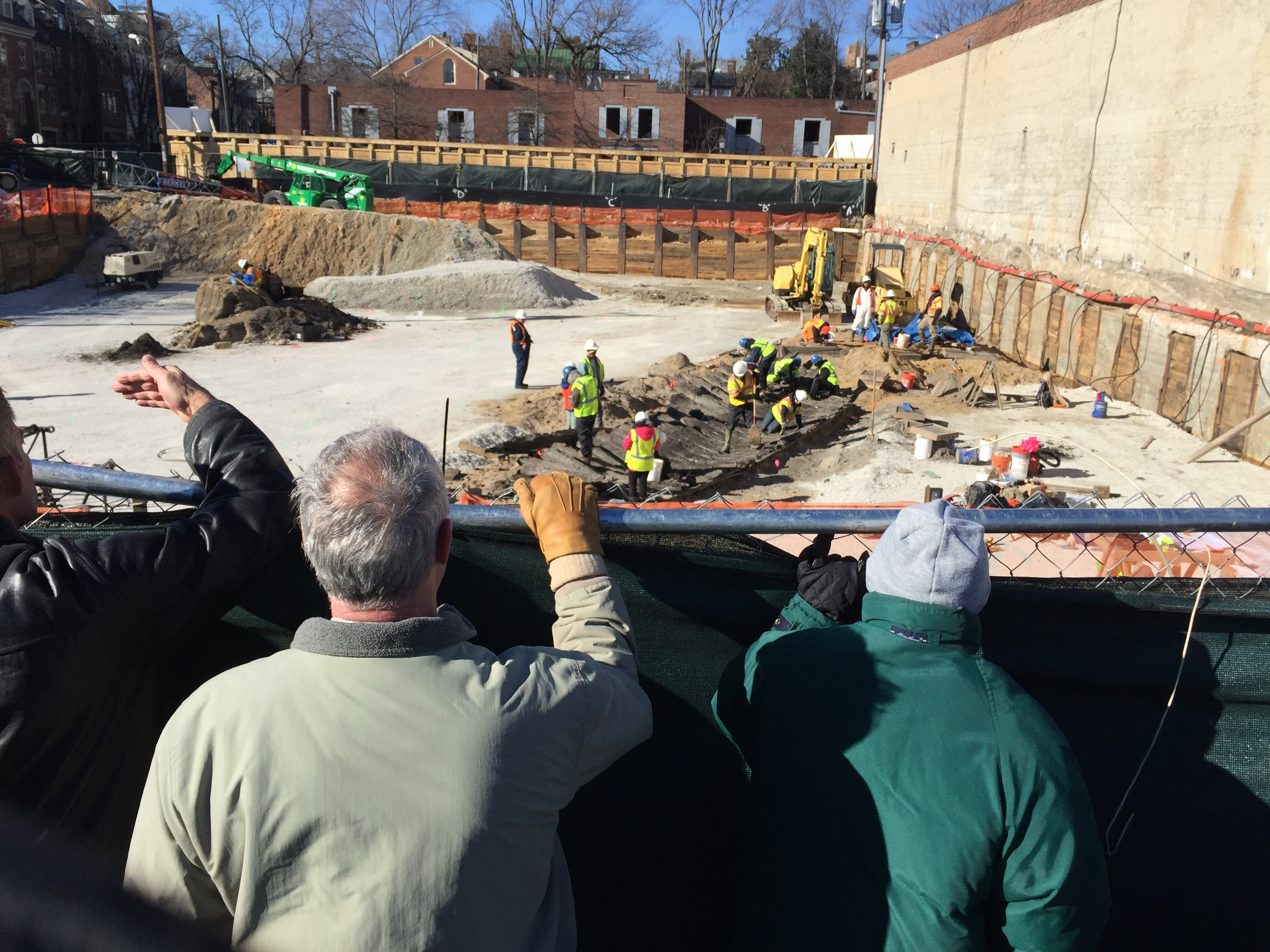 Remnants of 18th-century ship uncovered in Old Town Alexandria