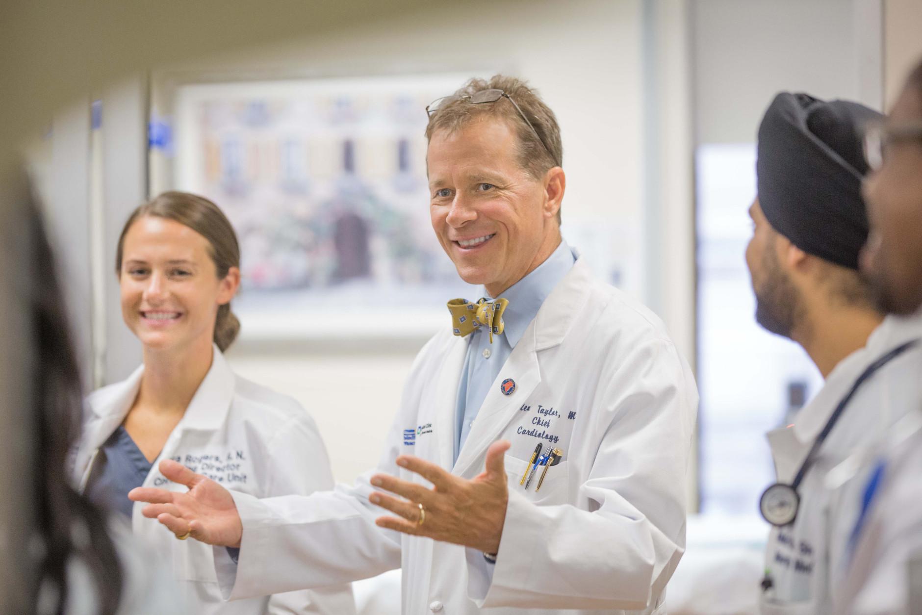 Dr. Allen Taylor, Chief of Cardiology with MedStar Heart & Vascular Institute. (Courtesy MedStar Heart and Vascular Institute)