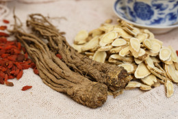 Chinese Medicine,  Nourishing herbs   ,All kinds of nourishing herbs still lifes close-up