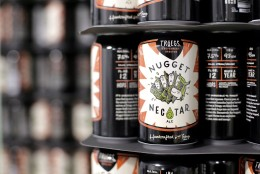 The Tröegs Nugget Nectar from Tröegs Brewing Company in Hershey, Pennsylvania. (Courtesy Tröegs Brewing Company Facebook)
