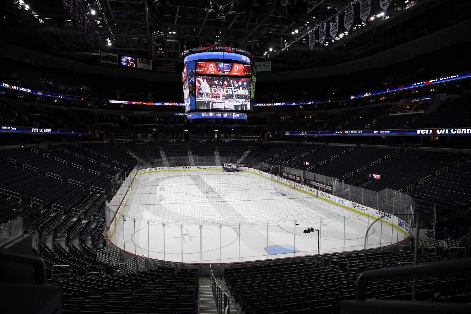 Capitals, Wizards postpone games after warnings