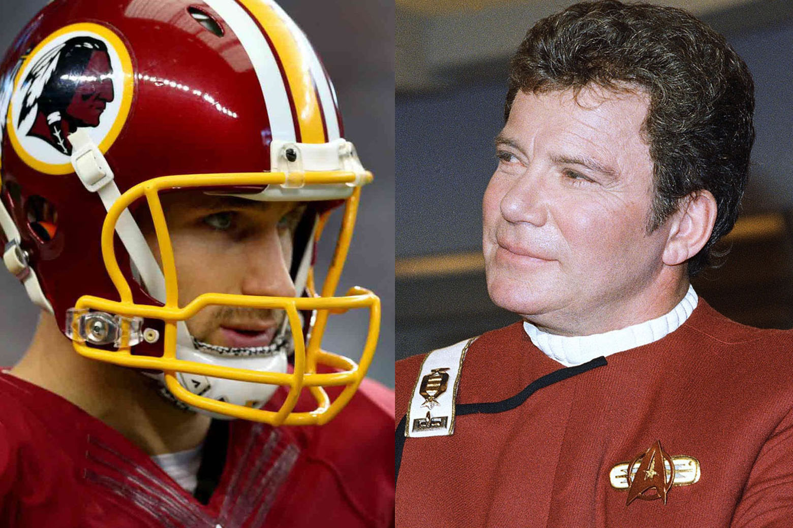William Shatner offers advice to D.C.'s Captain Kirk (Cousins)