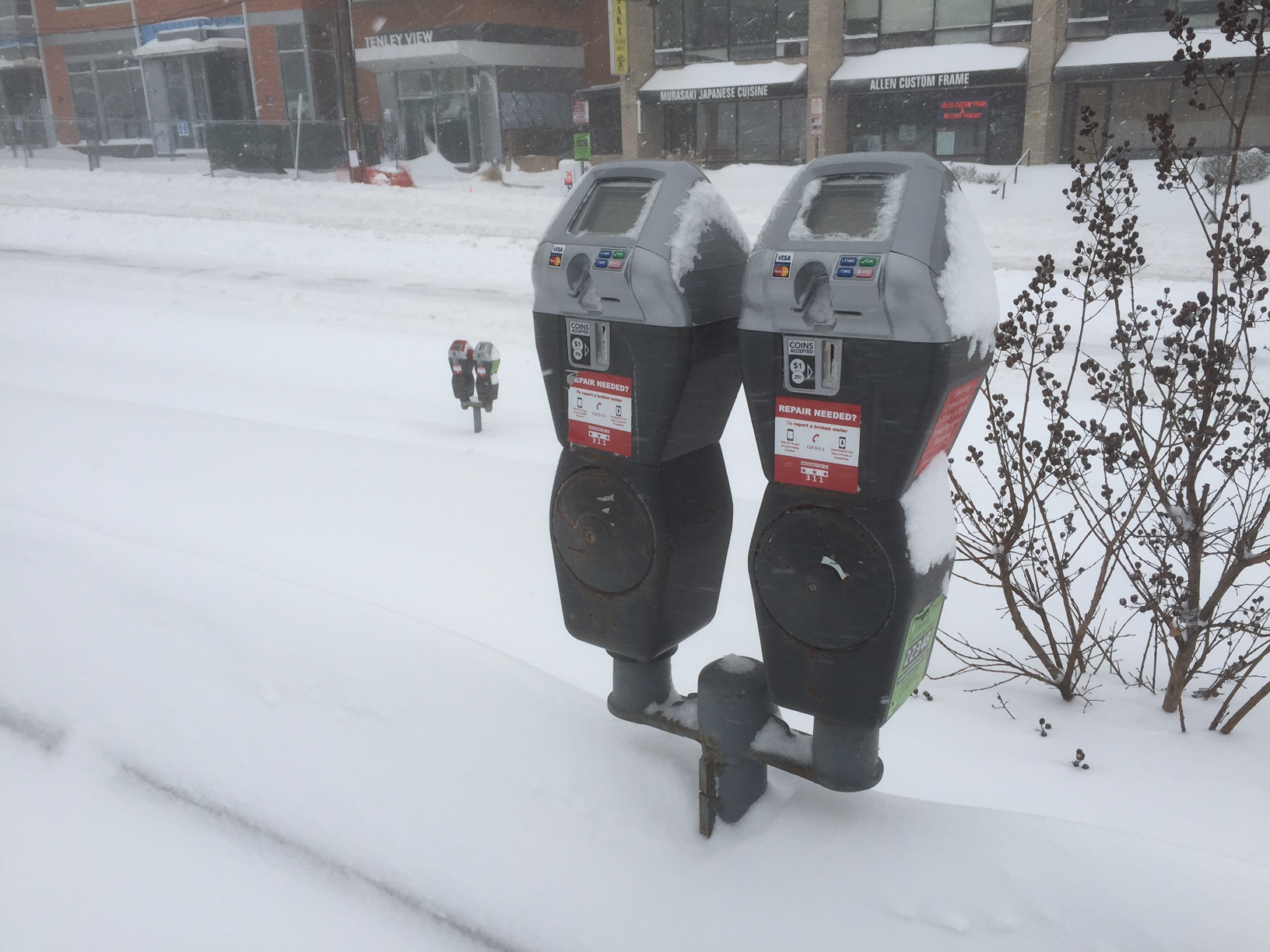 A parking meter is seen in D.C. (WTOP/Dave Dildine)